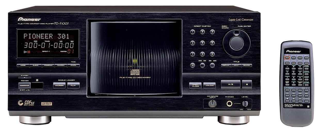 Images du Pioneer PD-F1007 : mgachangeur 301 CD